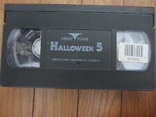 Halloween 5 de Dominique Othenin-Girard, VHS seule, Horreur, RARE!!
