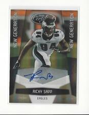 2010 Certified Mirror Gold #253 Ricky Sapp Rookie AUTOGRAPH Eagles /25