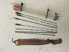 vtg lot of Arrows archery feather fletching