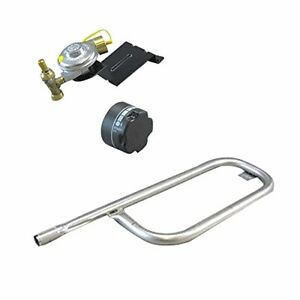 Weber Baby Gas Grill Replacement Knob, Tube Burner, and Baby Q Valve & Regulator