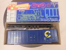 HO SCALE ROUNDHOUSE 1826 C&O RIB-SIDE HIGH CUBE 50' BOX CAR KIT NOS