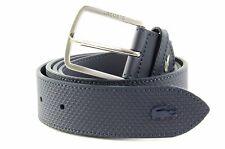 LACOSTE belt Men's Elegance Belt W90 Peacoat