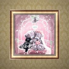 5D Diamond Embroidery Bear Painting Rhinestone DIY Craft Cross Stitch Decoration