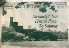 "NY Subway Subway Sun Ad 24 No 2 Central Park Amelia Opdyke Jones, a.k.a. ""Oppy"""