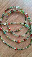 Beautiful African Waist Beads Christmas Spirit