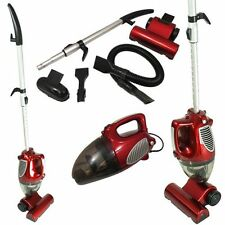 2 in 1 Hand Held Upright Bagless Compact Lightweight Vacuum Cleaner Hoover RED