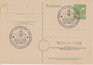 Esperanto  München  Deutscher Esperanto Kongress  1948