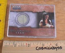 Xena Warrior Princess costume card C8 Lucy Lawless Leah