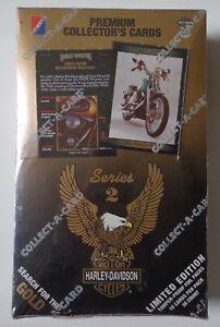 Harley Davidson Premium Collectionneurs Cartes Séries 2 Usine Scellé 36 Comte