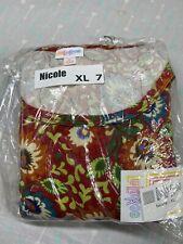 LuLaRoe Nicole Dress Size XL 7