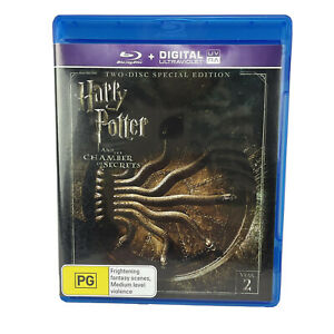 Harry Potter and the Chamber of Secrets 2-Disc Special Edition Blu-ray DVD PAL