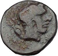 GELA in SICILY 420BC Onkiai BULL GELAS Authentic Ancient Greek Coin i45473