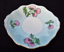 "Vintage 50s FOLEY Staffordshire England GLENCARRY THISTLE 10""d Serving Plate"