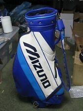 Mizuno Golf Staff Bag White/Blue Very Nice!!