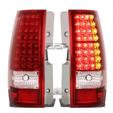For 2007-2014 Chevy Tahoe Suburban GMC Yukon XL 1500 2500 LED Tail Light Lamps