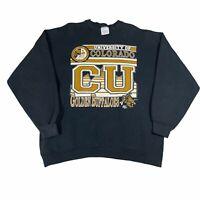Vintage 90s Colorado Buffaloes Tultex USA College Graphic Print Sweatshirt - XL