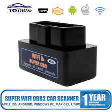 WiFi OBD2 OBDII Car Diagnostics Scanner Scan Tool for iPhone iOS Android PC