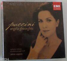 ANGELA GHEORGHIU - PUCCINI Opera Arias Recital - CD Digibook Sigillato
