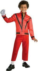 Rubies Niños Michael JACKSON Thriller Chaqueta Música Disfraz Halloween 884242