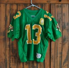 >Game Used FOOTBALL JERSEY: 1995 Oregon Ducks MICHAEL FLETCHER + 100 Yr. Patch!!
