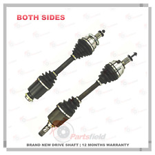Pair of Mazda 3 BK Series 1 2.0L Automatic CV Joint Drive Shaft 03-05