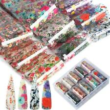Transfer Adhesive Nail Art Stickers Manicure Decor Holographic Decals Nail Foil