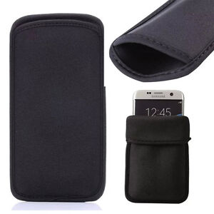 Soft Elastic Neoprene Shock Absorbing Sleeve Pouch Case Cover For Various Phones