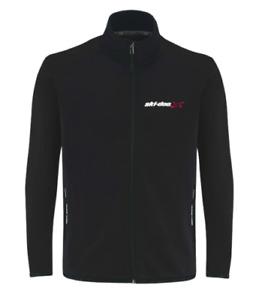 Ski-Doo Mens Technical Mid Layer Fleece size  Medium 454113 Reg $90 Black