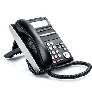 NEC DT700 Series Model ILE(6D)Z-(BK) VoIP Desktop Phone ITL-6DE-1(BK)TEL - No AC
