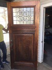 vintage wood front door 36x84