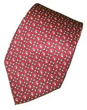 GITMAN BROS. Men's 100% Mens necktie Silk Tie Paisley USA Made