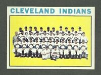 1964 Topps # 172 Cleveland Indians Team - MINT - Additional ship free