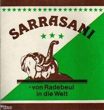 Sarrasani Circus Zirkus Programm Sonderausstellung Radebeul 1987