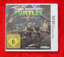Teenage Mutant Ninja Turtles, Nintendo 3D 3DS Spiel, Neu, deutsche Version