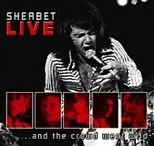 SHERBET Live...And The Crowd Went Wild CD BRAND NEW Daryl Braithwaite
