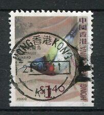 HONG-KONG, CHINE, 2006, timbre OISEAU FORK-TAILED SUNBIRD, oblitéré