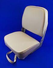 Classic Folding Grey Boat Helm Seat - Speed Boat Fishing - New US4