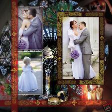 Volume 7 ELEGANT WEDDING PHOTO ALBUM PSD TEMPLATES Photoshop V.7  *