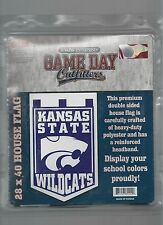 "Kansas State Wildcats 2 Sided House Flag Banner 28"" x 40"" Premium Flag"