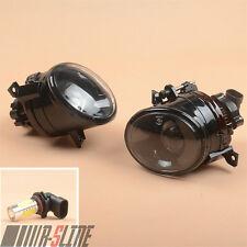 Front Convex Lens LED Fog Light FogLamp W/ 9006 For VW Golf MK5 V Jetta Scirocco