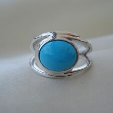 2.50ct Natural Arizona Sleeping Beauty Turquoise Sterling Silver Ring