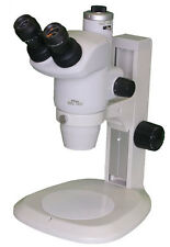 New Nikon Smz 745t Stereozoom Microscope With Track Stand And Eyepieces