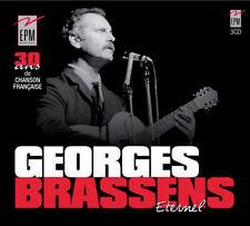 GEORGES BRASSENS - ETERNEL (COFFRET 3 CD - NEUF)
