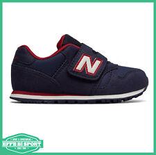 Scarpa da bambino blu navy rosso New Balance kv373ndy junior sneakers velcro