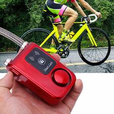 Bike lock Bluetooth Smart  Alarm Chain Keyless Door Phone APP Anti Theft Utility
