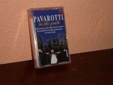 PAVAROTTI IN THE PARK  MUSICASSETTA -SIGILLATA-DECCA