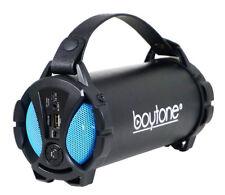 Boytone BT-38 Portable Bluetooth Indoor/Outdoor Speaker 2.1 Hi-Fi Cylinder FM