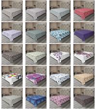 Ambesonne Butterfly Art Flat Sheet Top Sheet Decorative Bedding 6 Sizes