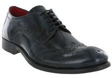 Scarpe classiche da uomo blu Base London
