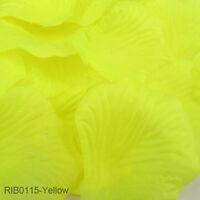 100/2000 Silk Rose Petals Flower Confetti Wedding Party Celebration Table Decor